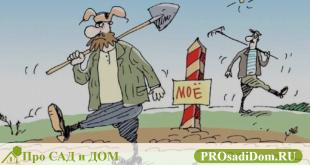 Нарушение прав собственника на земельный участок