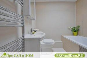 Перепланировка ванной комнаты и санузла в панельном и кирпичном доме