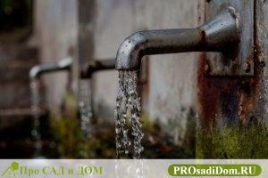 Нормативы потребления воды на человека
