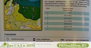 Зоны районирования в России