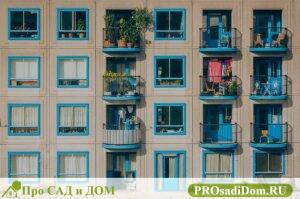 Входит ли балкон и лоджия в общую площадь квартиры?